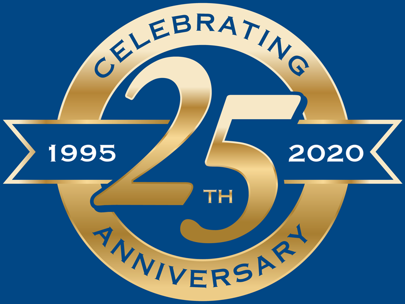 Retirewell 25th Anniversary Logo